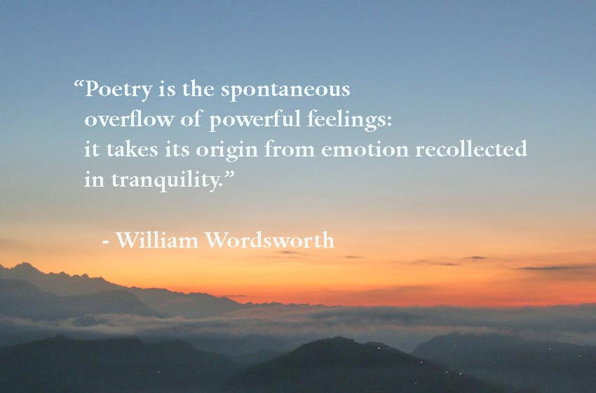 William Wordsworth Short Poems